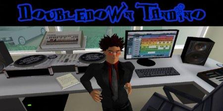 DJ Doubledown Tandino instudio