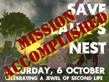 Save Lauk's Nest - Mission Accomplished