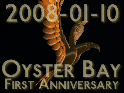 Oyster Bay - First Anniversary Poster